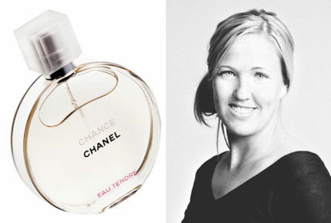 Lisa Arnell, Chance eau tendre Chanel