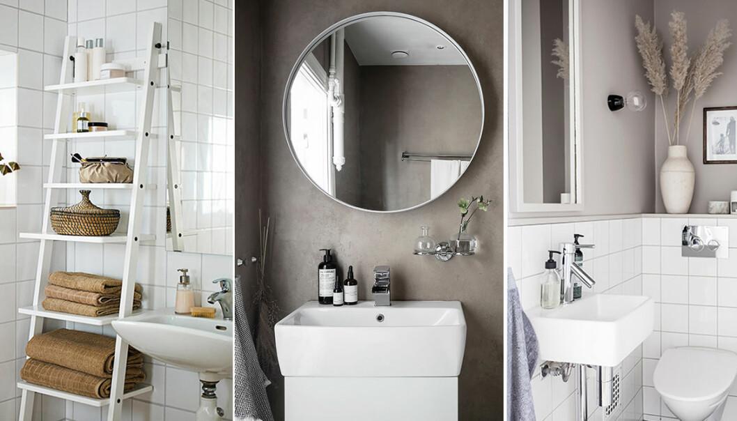 Så får du ett litet badrum att kännas större – compact living-badrum