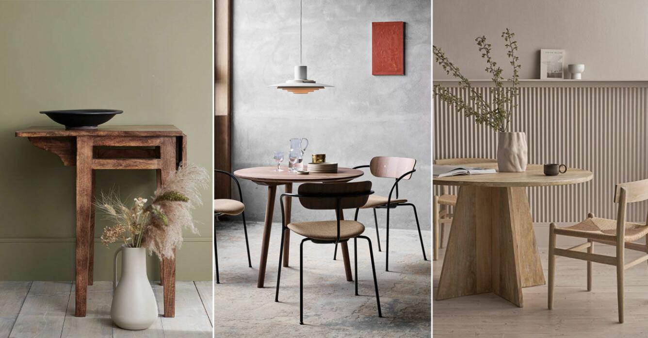 Små matbord compact living