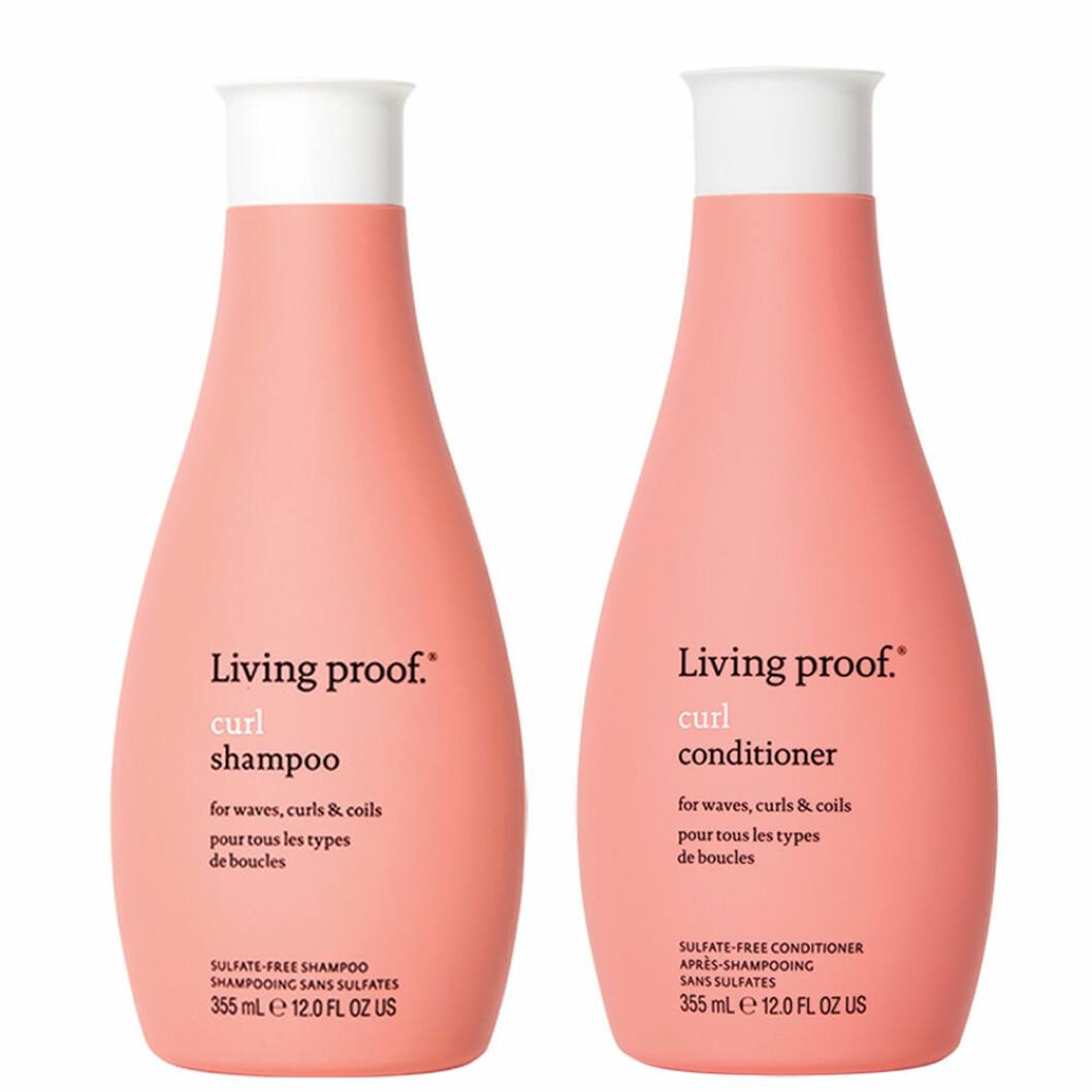 Living proof curl schampo och balsam