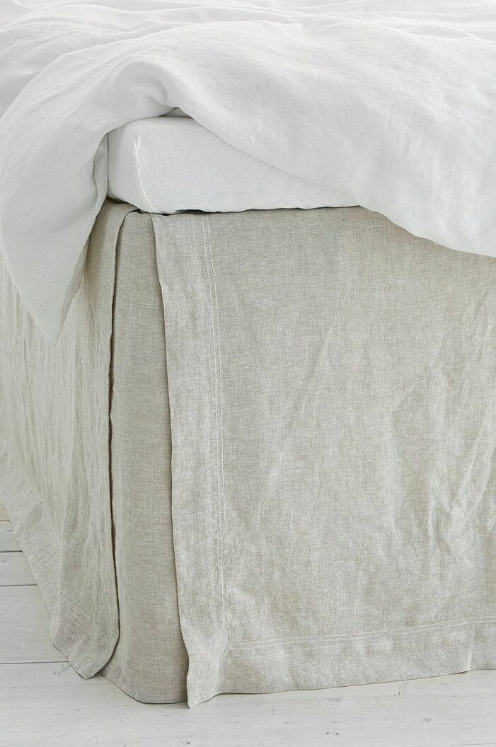 sängkappa linne