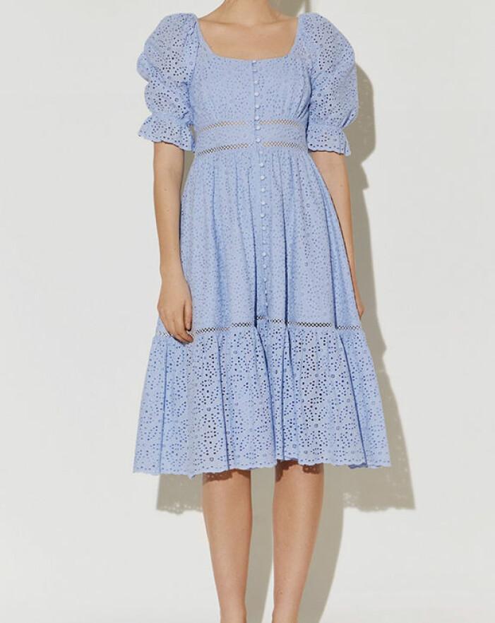 blå klänning från by malina