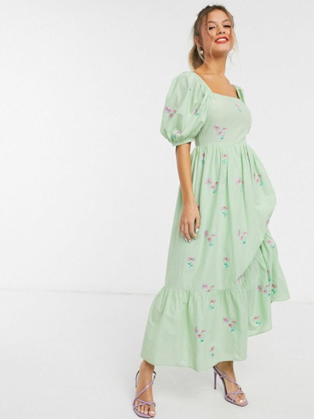 Ljusgrön klänning från Asos