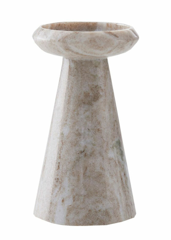 ljushållare marmor