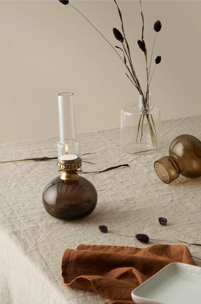 ljuslykta i klassisk oljelampa-stil från ellos home