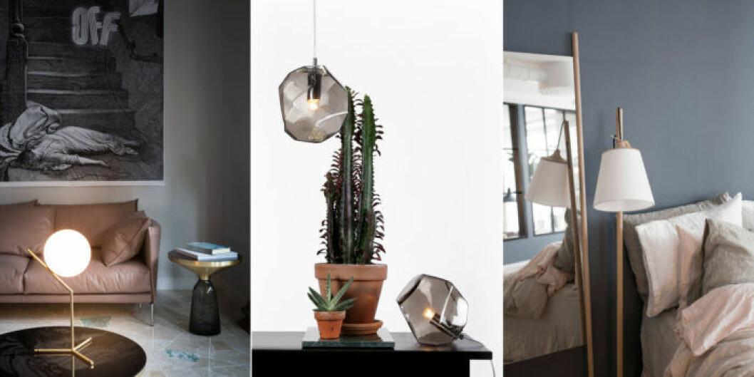 Komplettera hemmet med små lampor.