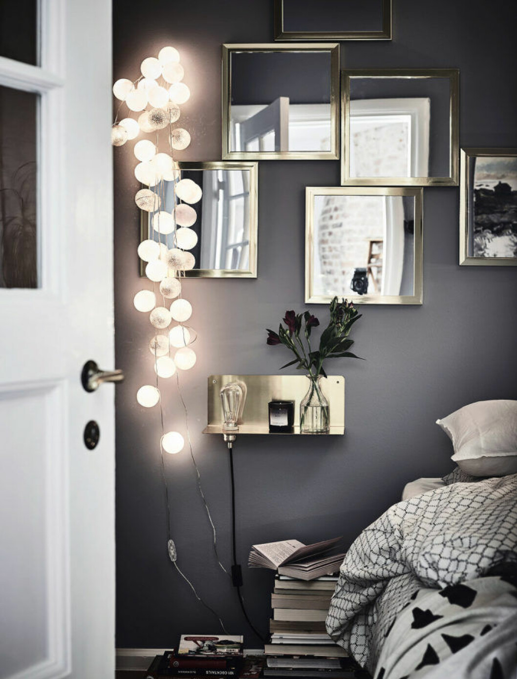 Ljusslingan passar i hemmet året om