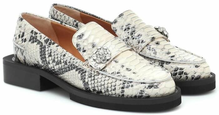 loafers från ganni.