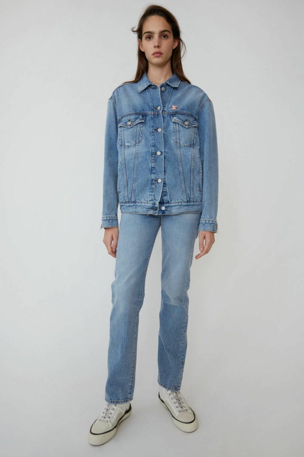 Jeansjacka och jeans från Acne Studios x Starter.