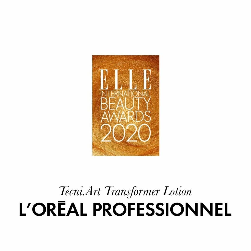 Årets hårstyling Tecni.art transformer lotion från L'Oréal Professionnel.