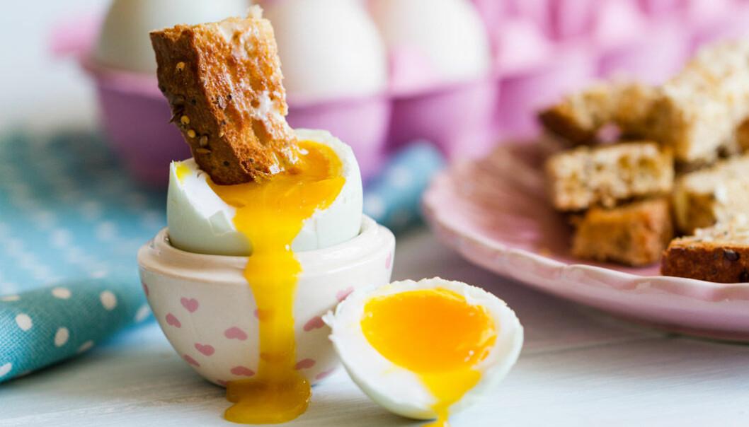 Tips! Toppa rostat bröd i löskokt ägg.