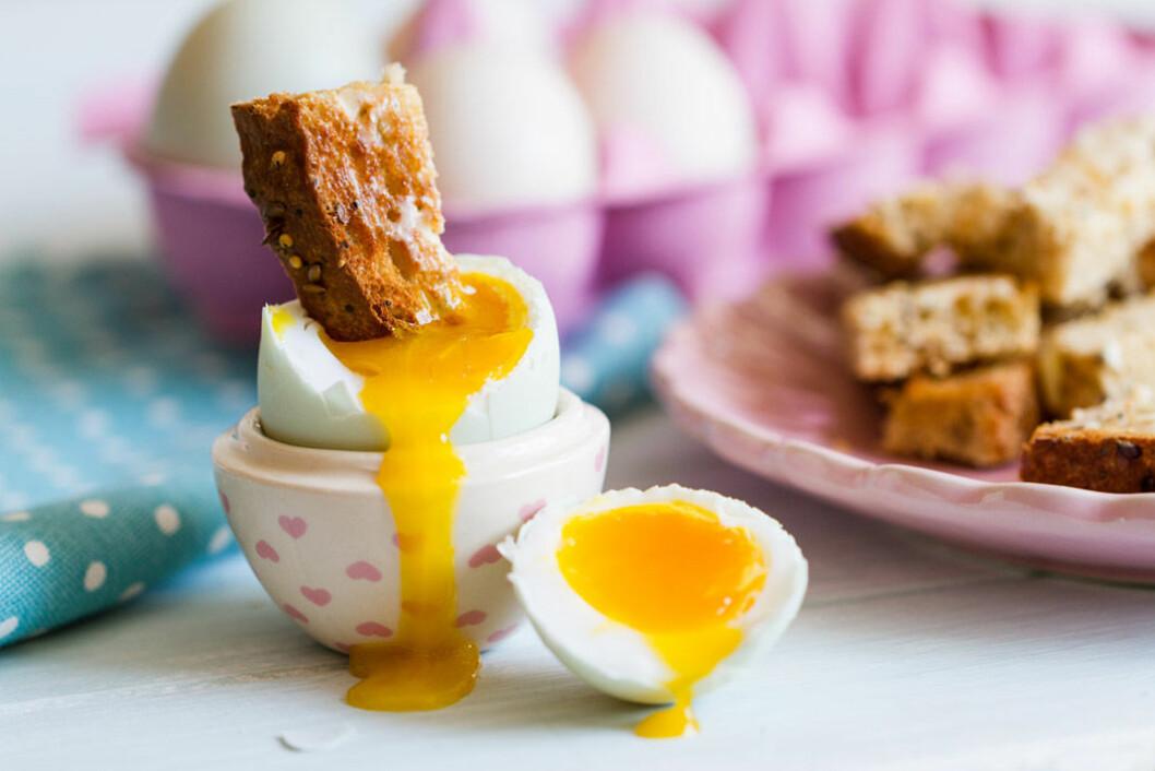 Tips! Doppa rostat bröd i löskokt ägg. Foto: Shutterstock