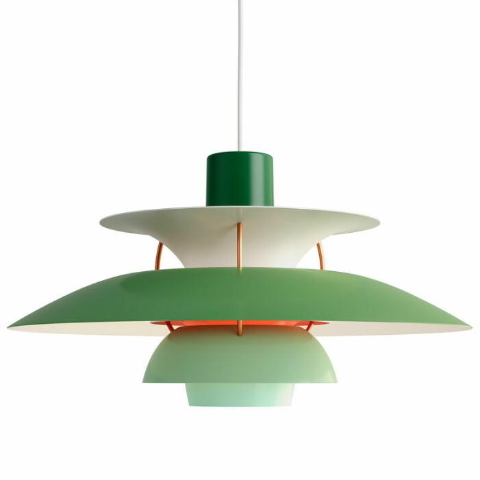 Taklampa PH5 från Louis Poulsen är en stilsäker designklassiker