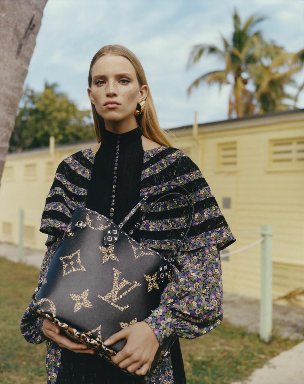 Louis Vuitton Monogram Giant Jungle neverfull bag