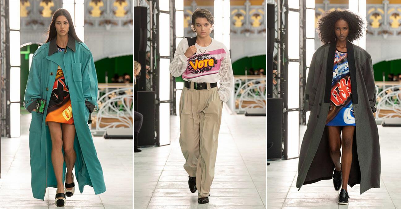 Louis Vuitton vårvisning 2021