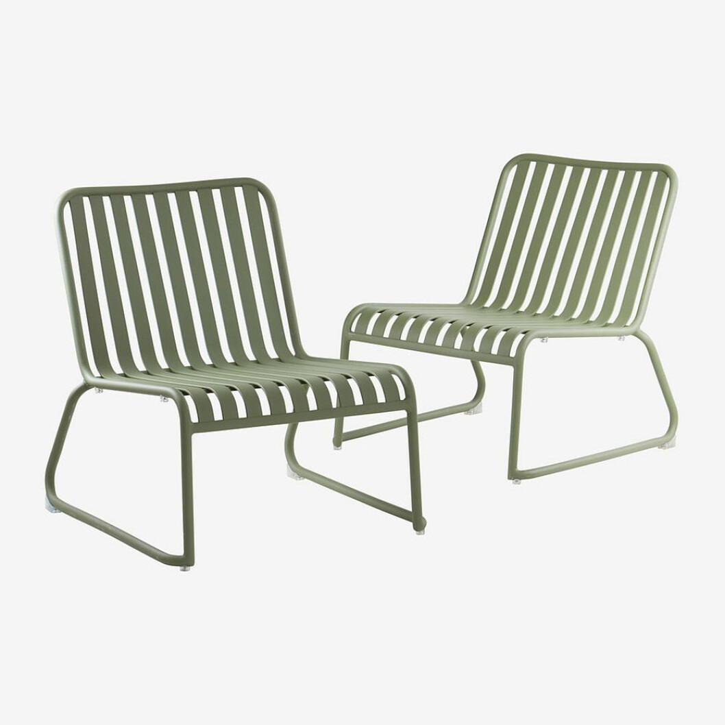 Loungestol till balkong eller uteplats