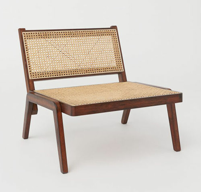 loungestol i rotting från H&M Home