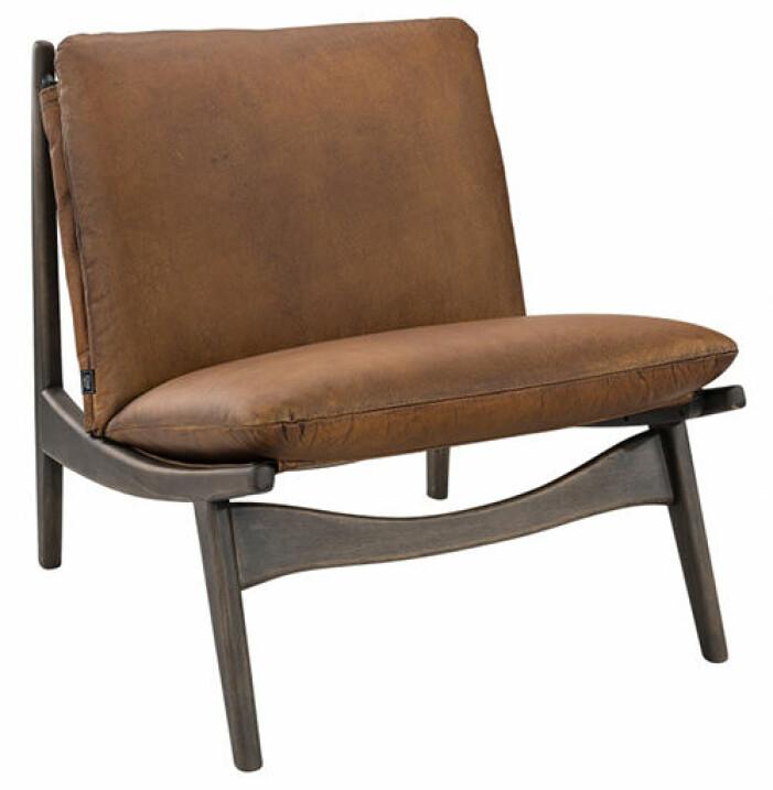 loungestol läder