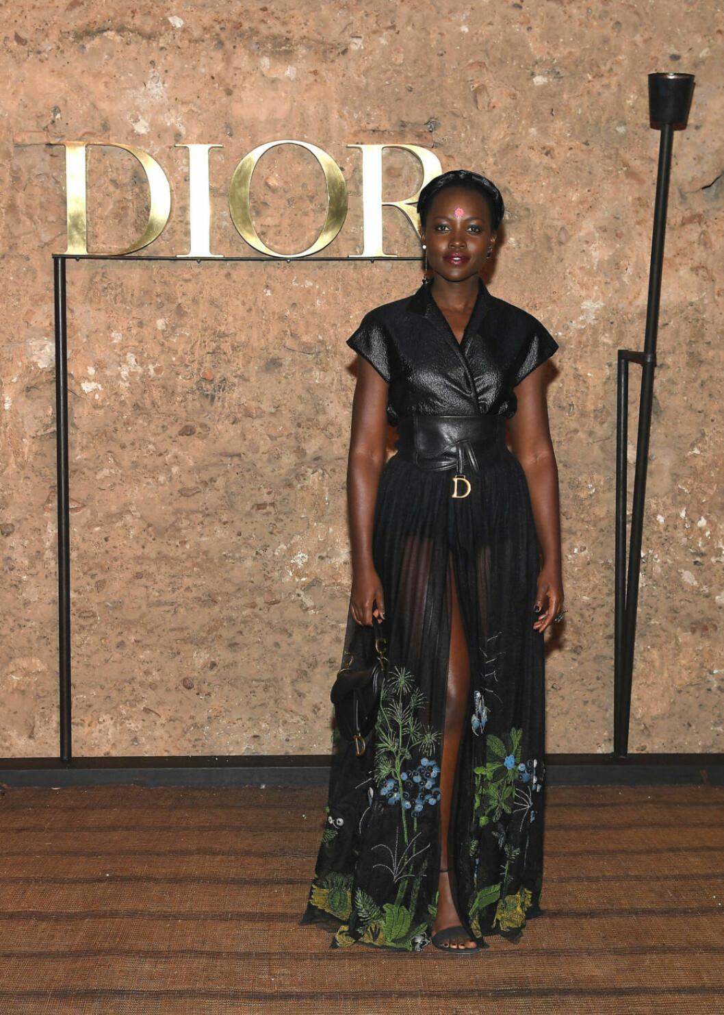 Lupita Nyong'o. Foto: Pascal Le Segretain/Getty Images Dior