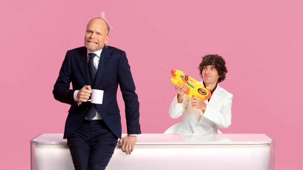 Luuk & Hallberg på SVT