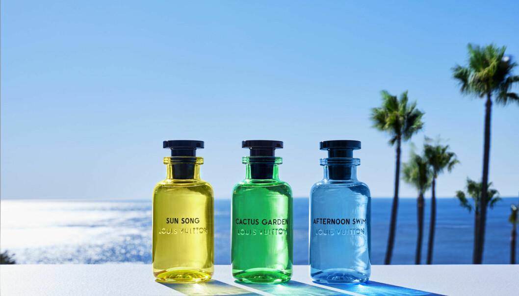 Parfymerna Les colognes från Louis Vuitton