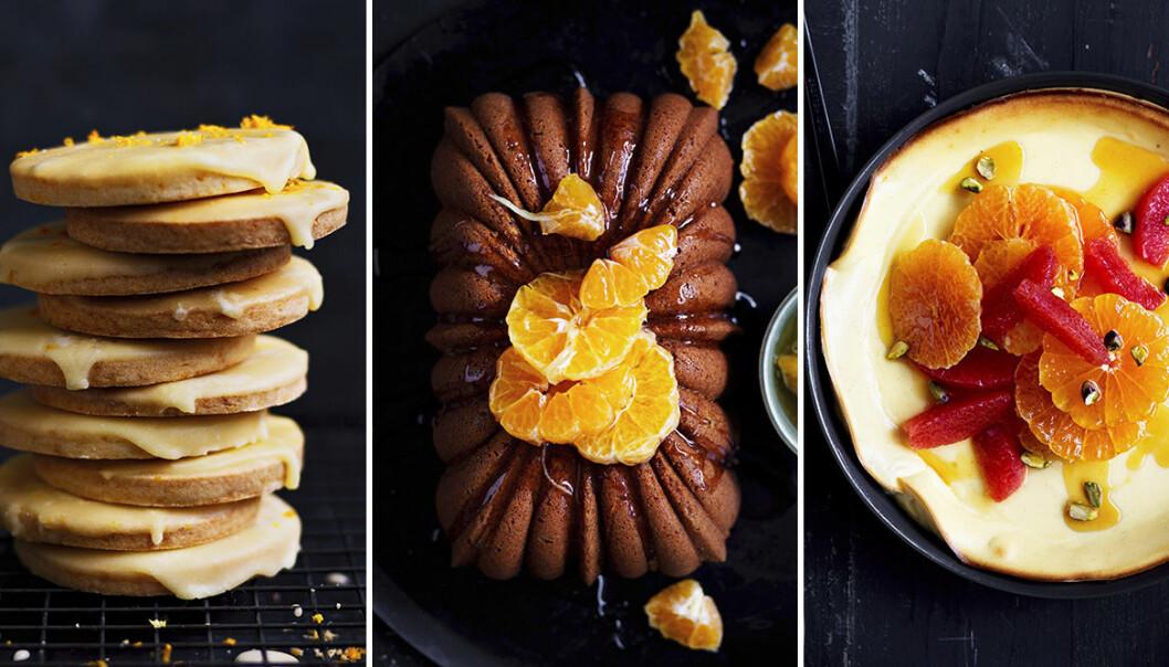 Lysande desserter med citrus.