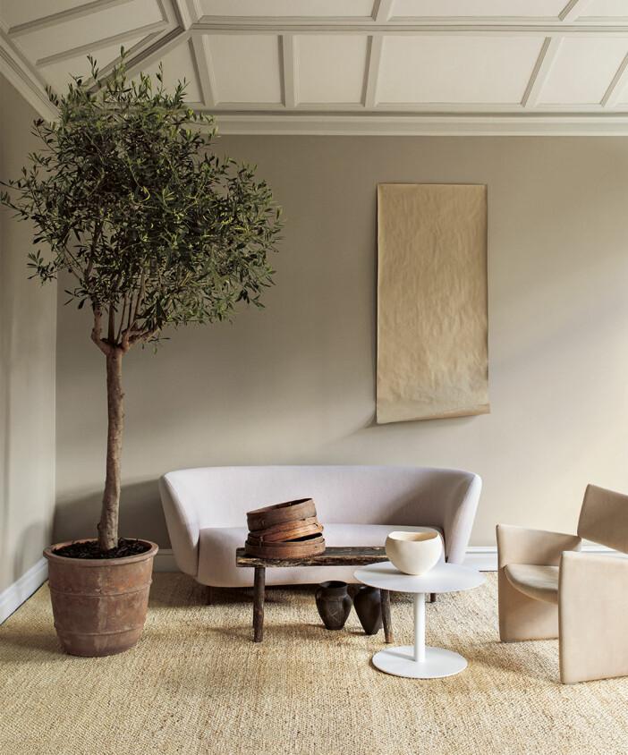 Lyssna - en beige väggfärg från Alcro