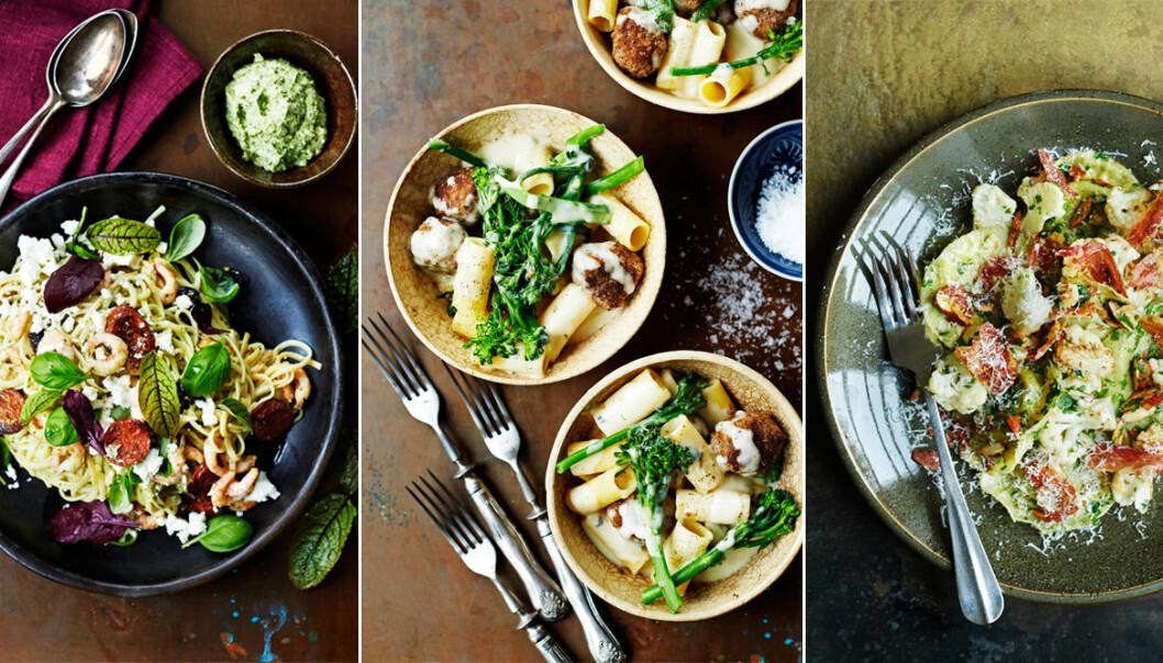 Recept på lyxiga och smakrika pastarätter