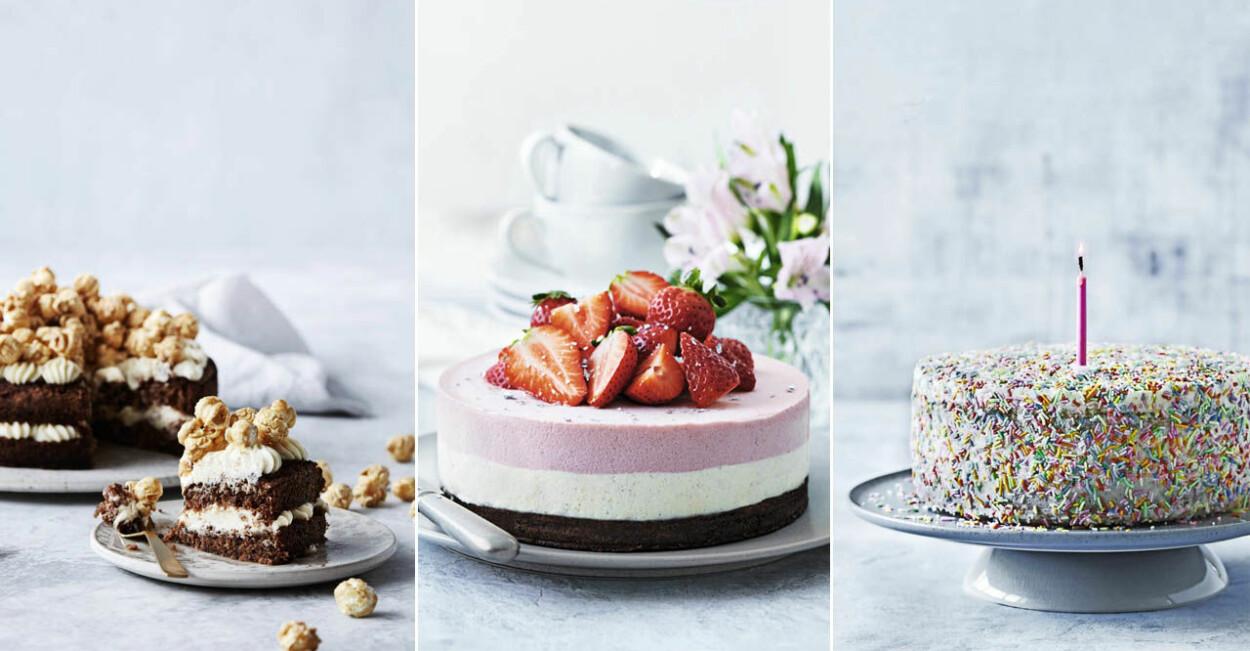 Lyxiga recept på tårtor