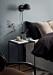 Ett stilleben i sovrummet ger en lyxig detalj