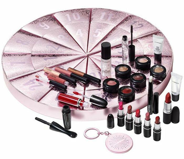 mac cosmetics adventskalender