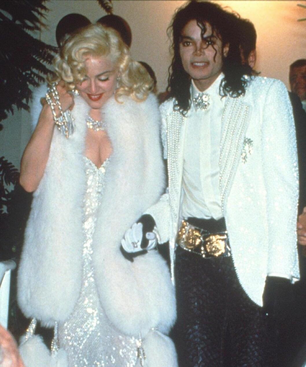 Madonna och Michael Jackson på Oscarsgalan 1991