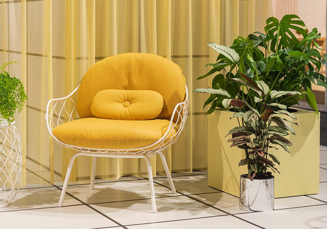 Gult hos Magis på Stockholm Furniture Fair 2020