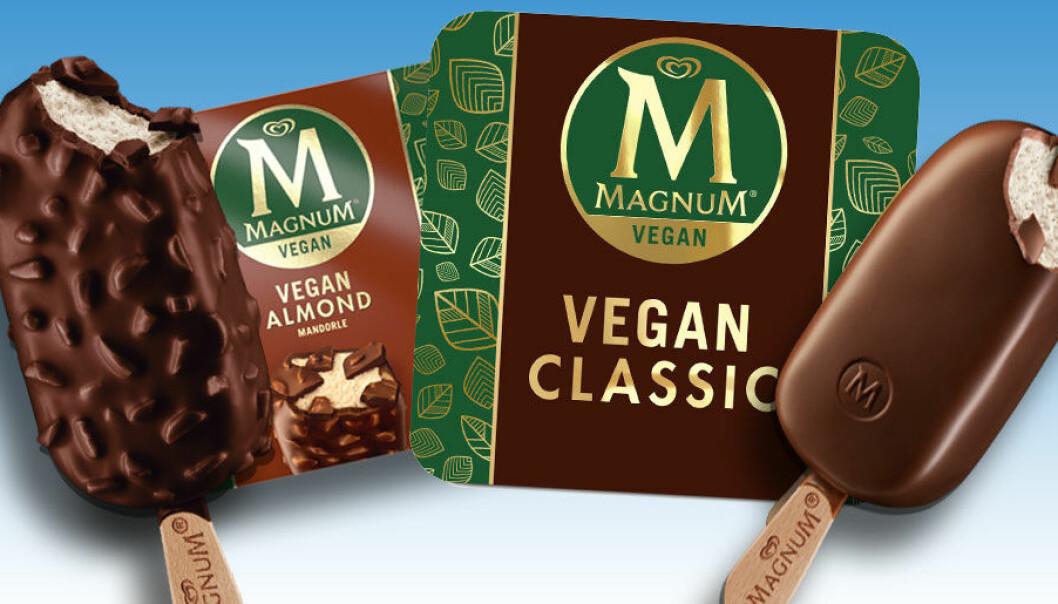 Då släpper Magnum vegansk glass.