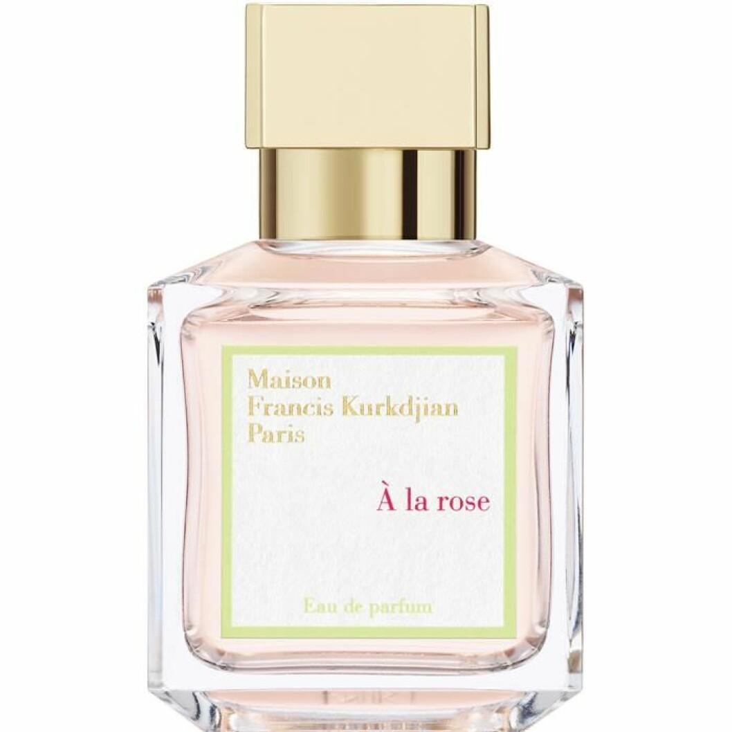 Parfym med doft av ros – Francis Kurkdjians doft à la rose