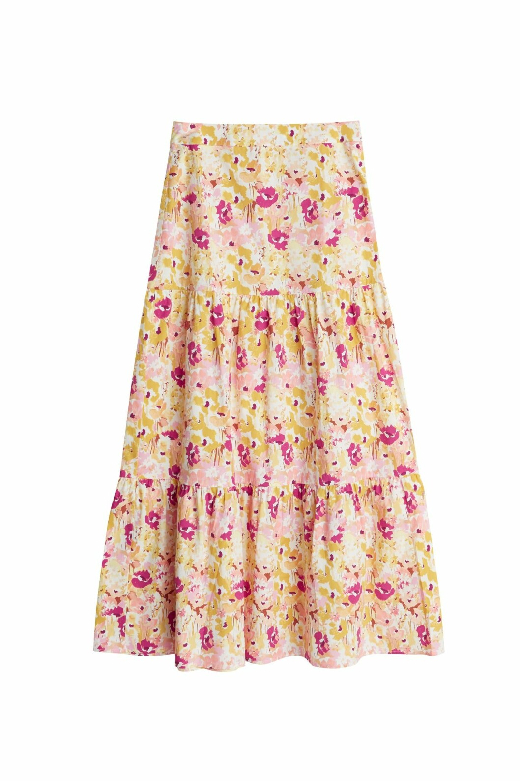 Maja Nilsson Lindelöf gör kollektion med Gina tricot –blommig kjol