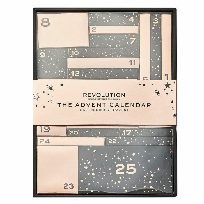 Julkalender Makeup revolution
