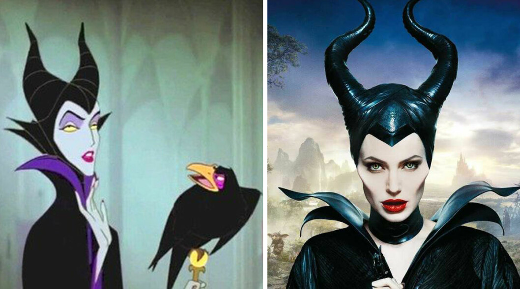 Angelina Jolie som Maleficent