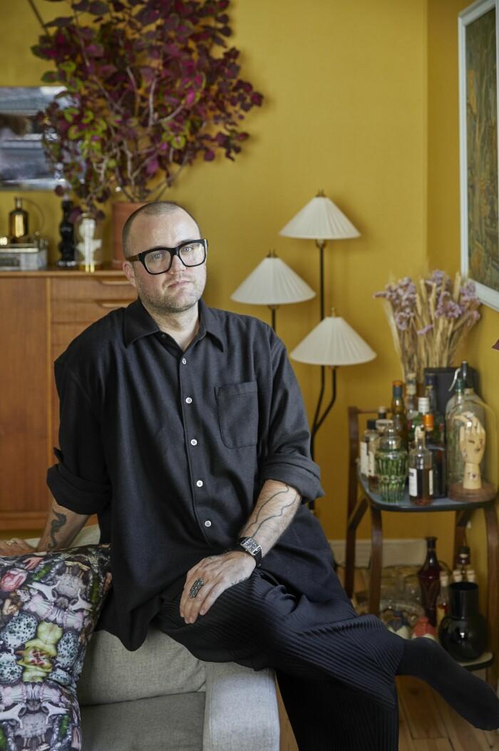 Hemma hos Malkiel Berry ELLE Decoration porträtt