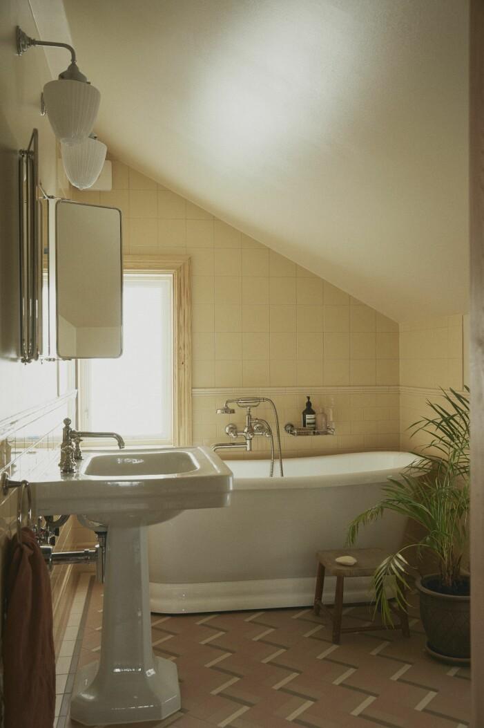 Malou Palmqvist hemma hos badrum