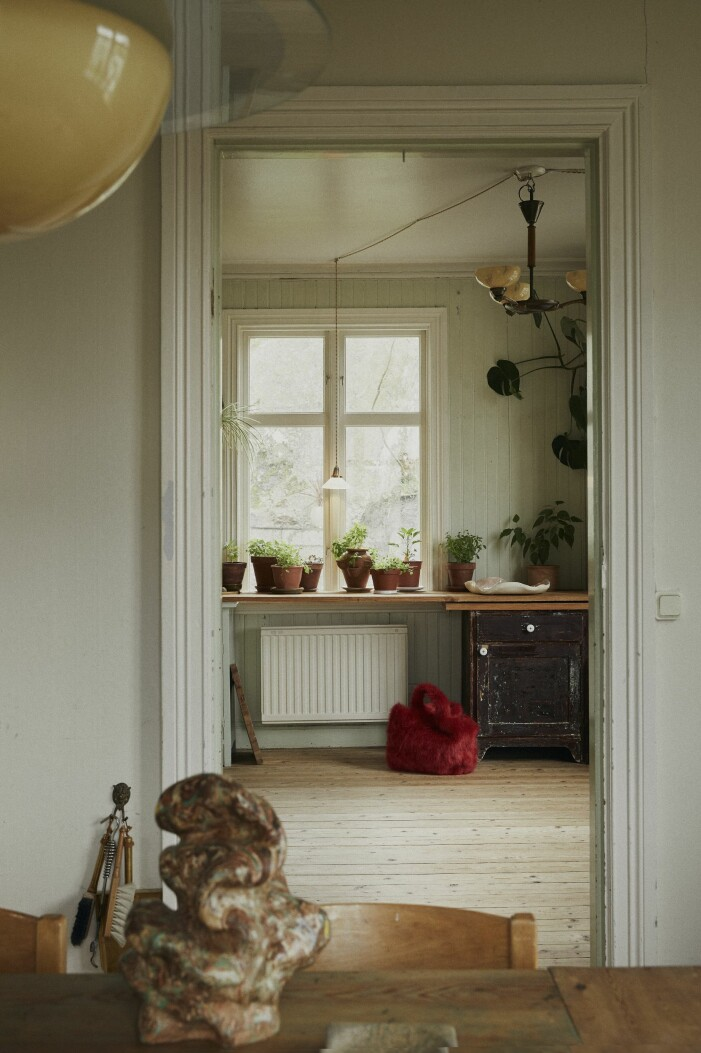 Malou Palmqvist hemma hos kitchen
