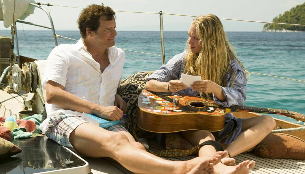 Mamma Mia filmen i Medelhavet