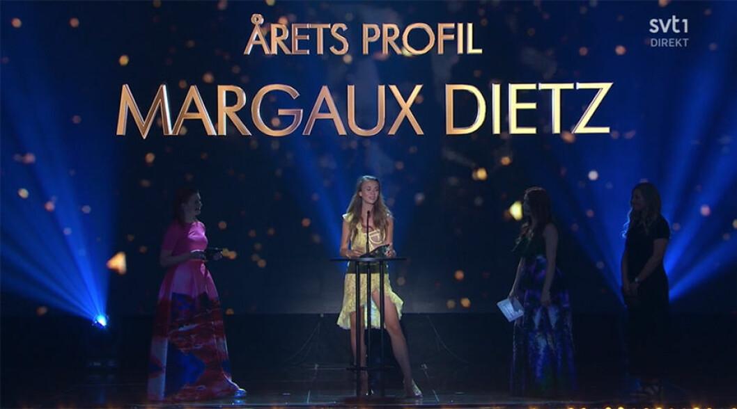 Margaux Dietz blev årets profil på Guldtuben.