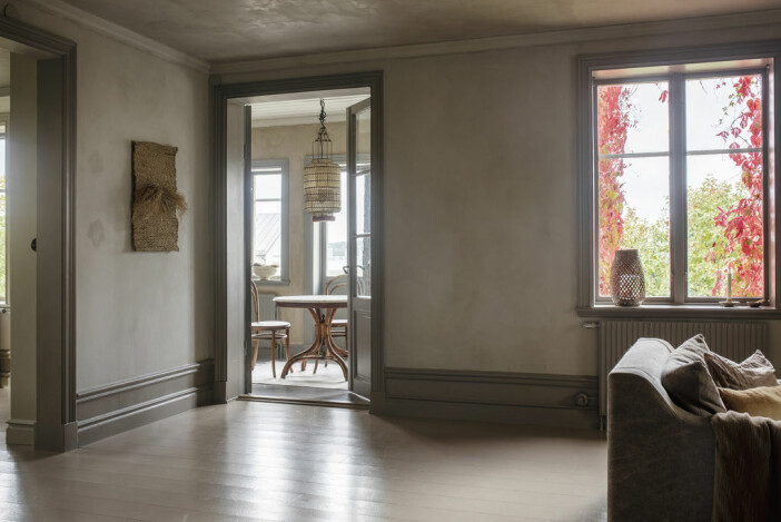 mari strenghielms hus på dalarö är till salu – vy mot veranda