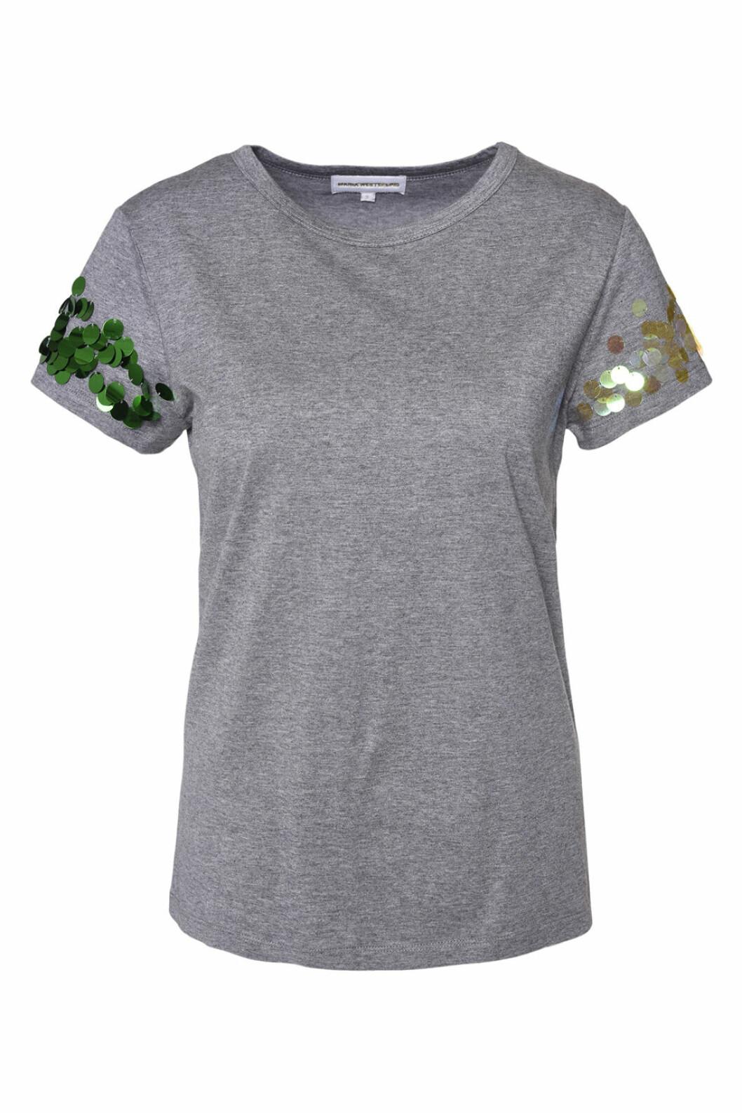 Maria Westerlind x MQ grå t-shirt