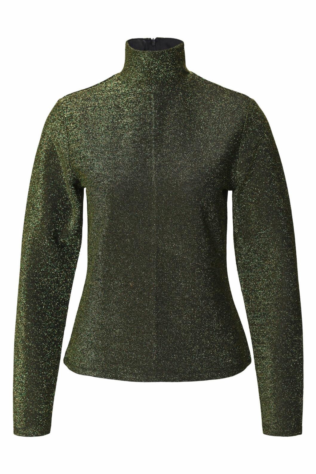 Maria Westerlind x MQ grön glitterpolo