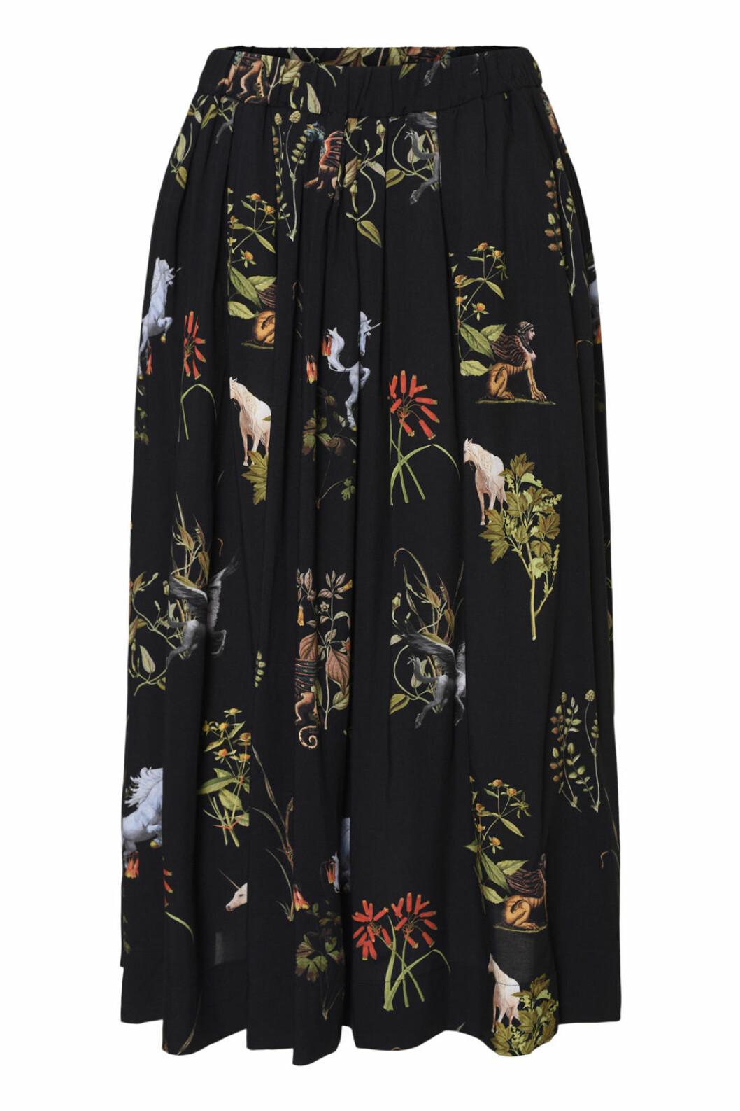 Maria Westerlind x MQ blommig kjol