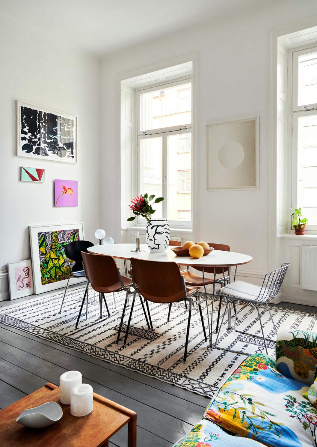 Marie Häger Stockholm matbord matsal