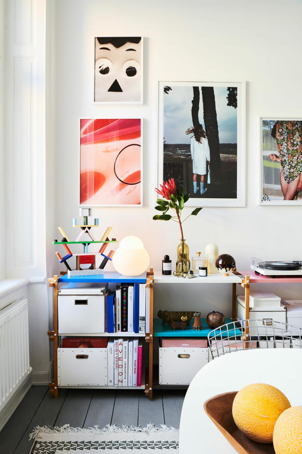 Marie Häger Stockholm tavelvägg wallofart