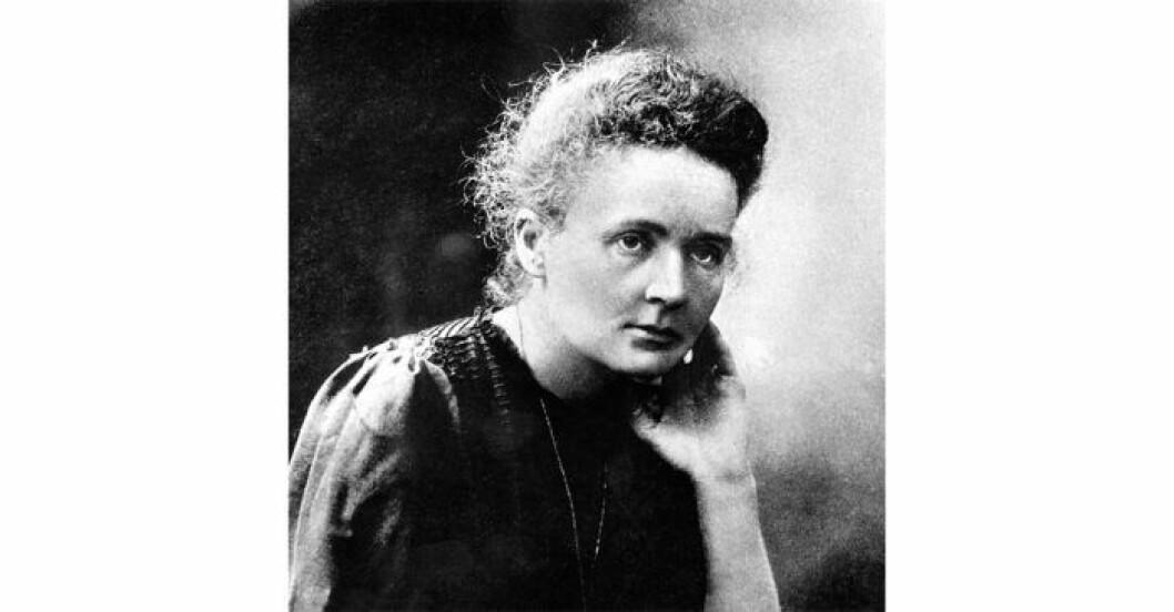 Marie Curie var första kvinna att tilldelas Nobelpriset